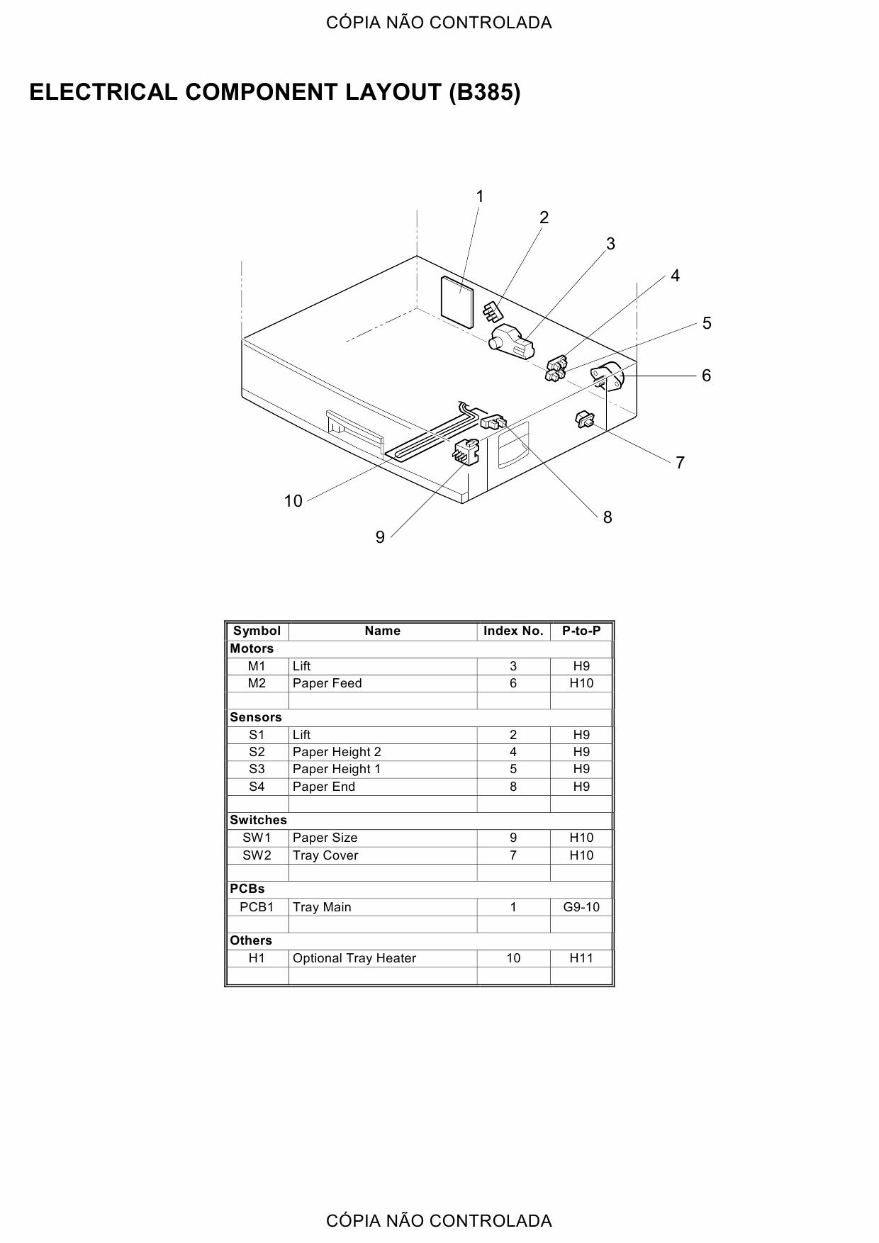RICOH Aficio 1015 1018 1018D 1113 B039 B040 B043 B120 Circuit Diagram-4